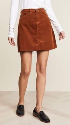 Blank Corduroy Mini Skirt