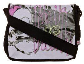 Poodlebag SKULL Shoulder Bag black