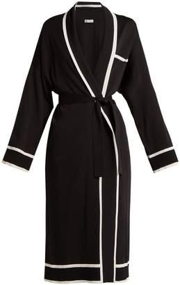 CONNOLLY Tie-waist silk robe