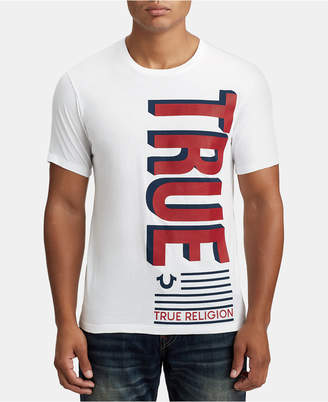 True Religion Mens Flag Graphic T-Shirt