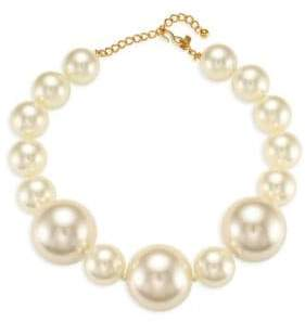Kenneth Jay Lane Faux-Pearl Single-Strand Necklace