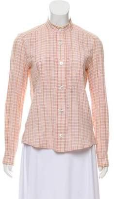 Marc by Marc Jacobs Marc Jacobs Pleat-Accented Button-Up Top