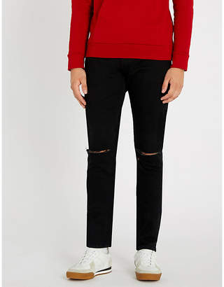 Balmain Destroy slim-fit straight jeans