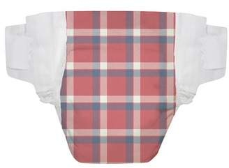 The Honest Company x THE GREAT. The Camper Plaid Diapers