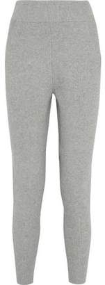 DKNY Ribbed Cotton-Blend Track Pants
