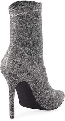 Charles by Charles David Puzzle Stretch Glitter Booties