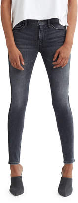 Hudson Nico Mid-Rise Super Skinny Ankle Jeans with Side Stripes