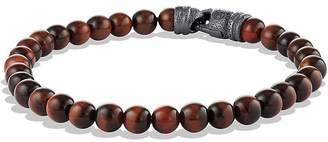 David Yurman Spiritual Beads Bracelet with Tiger's Eye, 6mm