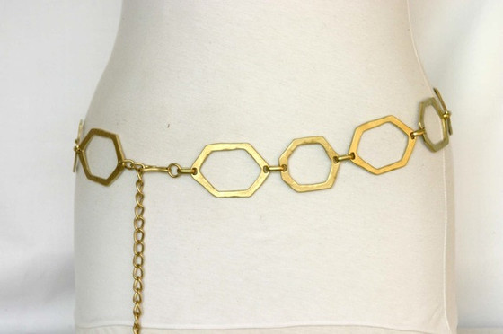 Streets Ahead Gold Sexy Chain Belt 118443498