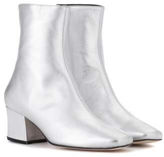Dorateymur Sybil Leek leather ankle boots