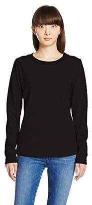MXP (エム エックス ピー) - (エムエックスピー) MXP トレーニング クルー 長袖シャツ MW36154 [レディース] K ブラック M