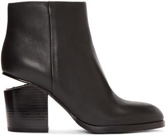 Alexander Wang Black Gabi Ankle Boots $650 thestylecure.com