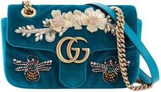 Gucci Marmont velvet handbag