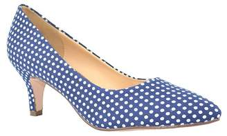 Chase & Chloe Diane Pointed Toe Low Pump ETwtmpOWzx