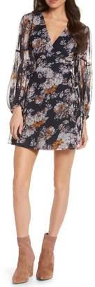 Ali & Jay Floral Wrap Minidress
