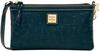 Dooney & Bourke Ostrich Large Slim Wristlet
