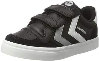 Hummel Unisex Kids' Stadil Jr Leather Low-Top Sneakers