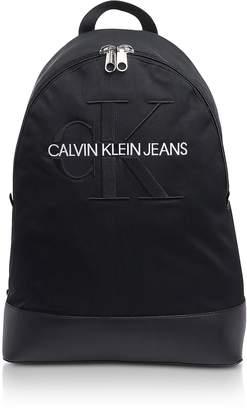 Calvin Klein Collection Monogram Nylon 15' Laptop Backpack