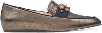 Nine West Baus Metallic Detailed Loafers