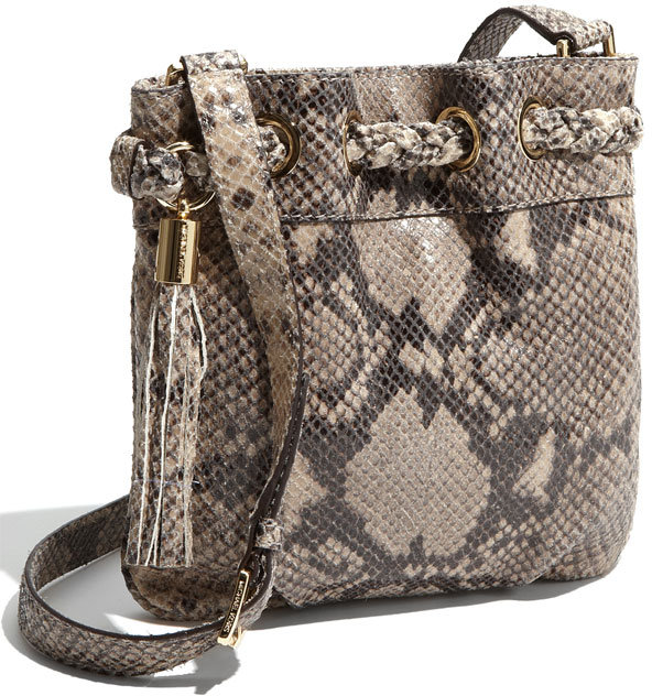 MICHAEL Michael Kors 'Braided Grommet - Mini' Crossbody Bag