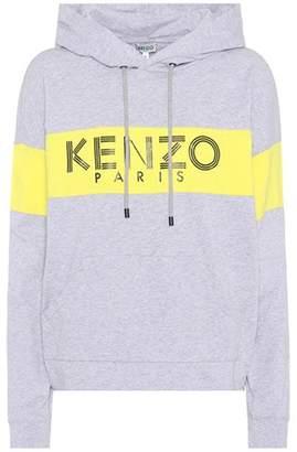 Kenzo Cotton logo hoodie