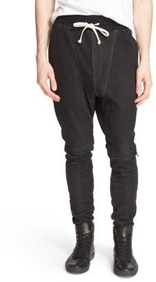 Men's Drifter 'Agile' Drop Crop Jogger Pants $185 thestylecure.com