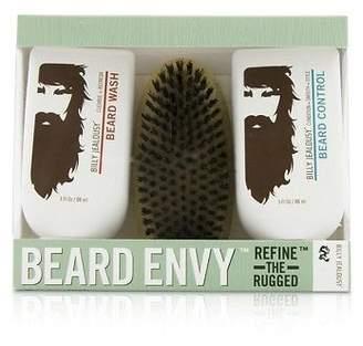 Billy Jealousy NEW Beard Envy Kit: Beard Wash 88ml + Beard Control 88ml + brush