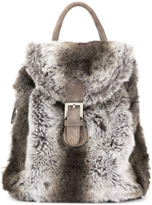 Fendi Pre-Owned faux fur backpack