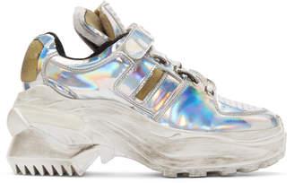 Maison Margiela Silver Chunky Sneaker