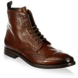 To Boot Bruckner Tall Leather Wingtip Boots