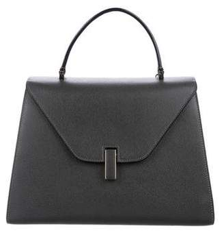 Valextra Iside Leather Top Handle Bag