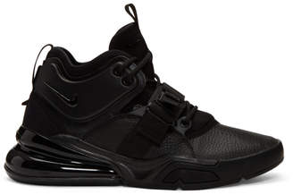 Nike Black Air Force 270 Sneakers