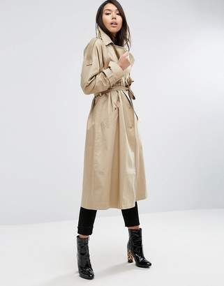ASOS Trench with Oversized Styling $127 thestylecure.com