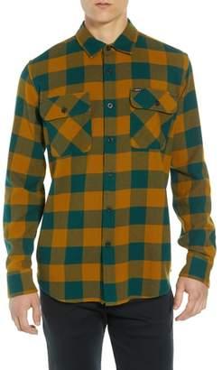 Obey Vedder Buffalo Plaid Flannel Shirt