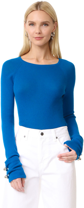 Prabal Gurung Thin Cashmere Sweater $595 thestylecure.com