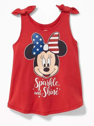 """Old Navy Disney© Minnie Mouse """"Sparkle and Shine"""" Tank for Toddler Girls"""