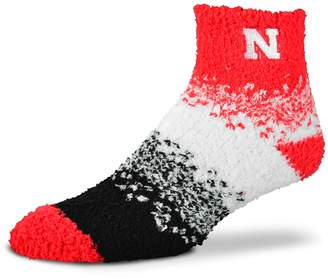 For Bare Feet Women's Nebraska Cornhuskers Marquee Sleep Socks