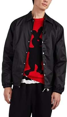 Marni Men's Logo-Appliquéd Coach's Jacket