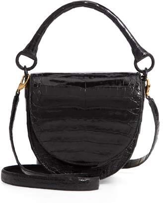 Nancy Gonzalez Small Teddy Crocodile Leather Crossbody Bag