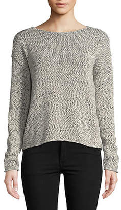 Lord & Taylor Long-Sleeve Boxy Pullover