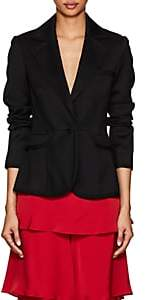 Osman Women's Ella Wool Twill Slim Blazer-Black