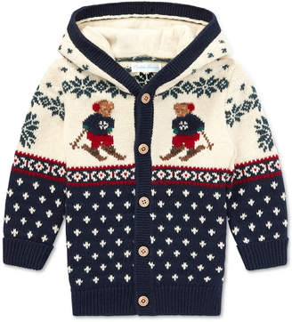 Polo Ralph Lauren (ポロ ラルフ ローレン) - Polo Ralph Lauren Baby Boys Ski Bear Cardigan
