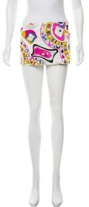 Emilio Pucci Printed Mini Skirt
