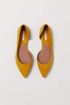 H&M Pointed Flats - Yellow