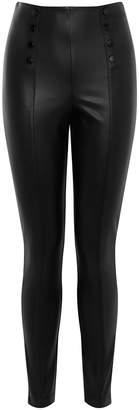 Karen Millen Faux Leather Leggings