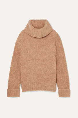 ADAM by Adam Lippes Merino Wool-blend Turtleneck Sweater - Camel