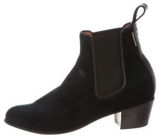Penelope Chilvers Velvet Chelsea Boots