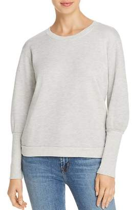Nation Ltd. Coco Bishop-Sleeve Sweatshirt