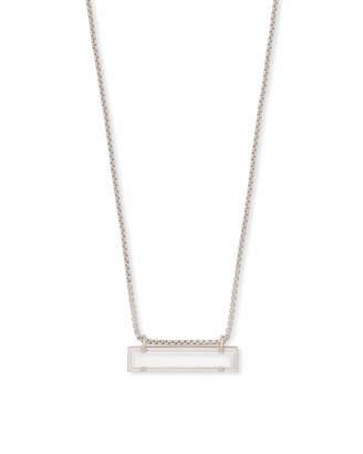 Kendra Scott Leanor Pendant Necklace in Silver
