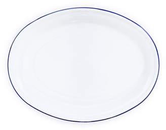 Lulu & Georgia Enamelware Platter, Blue